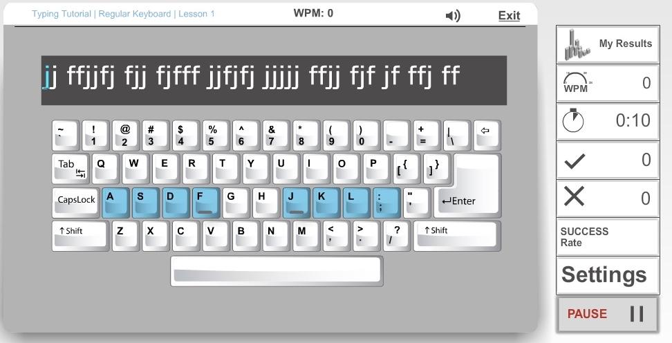 Tastaturschreiben online üben